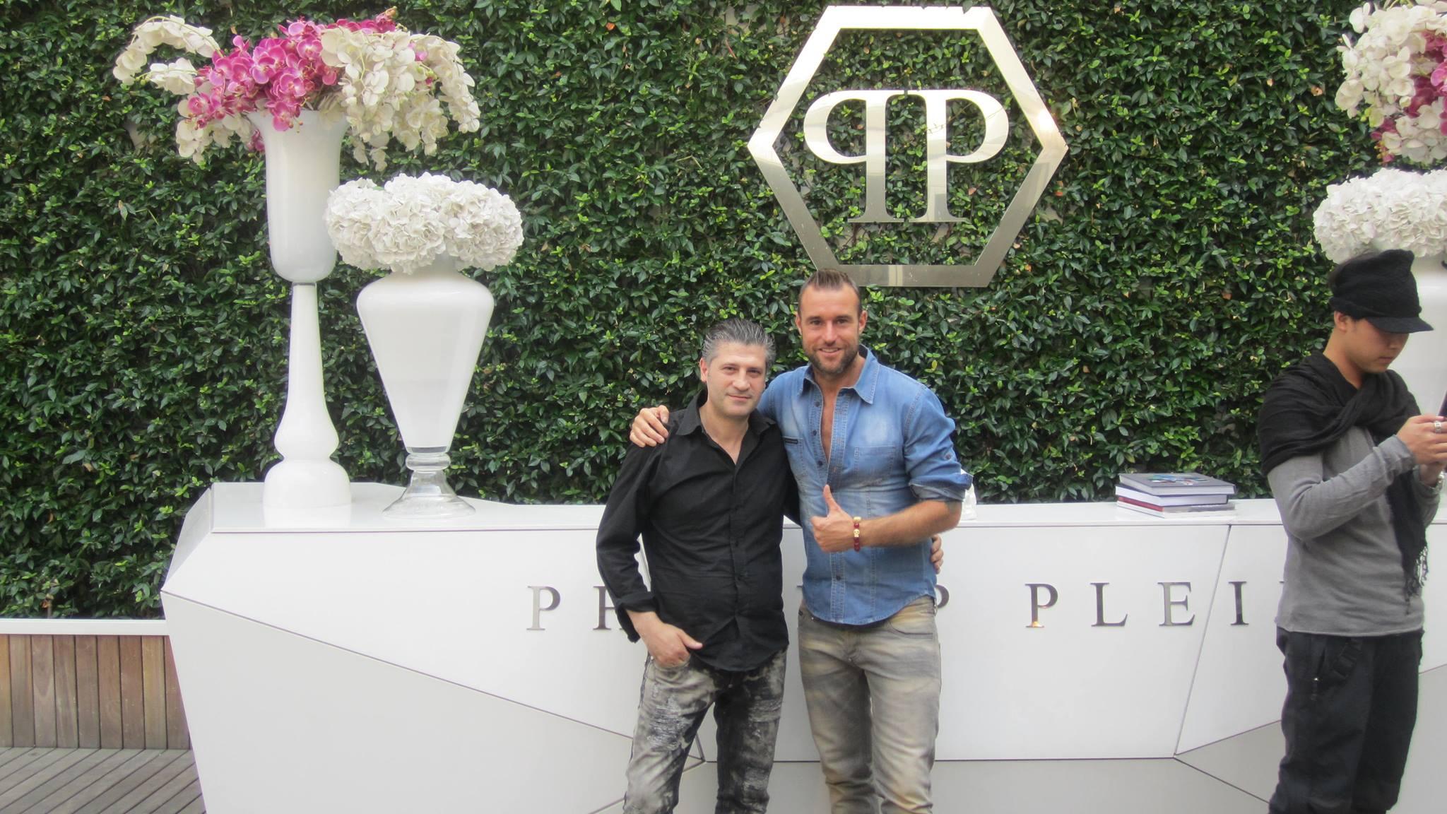Mehmet Kandemir und Philipp Plein